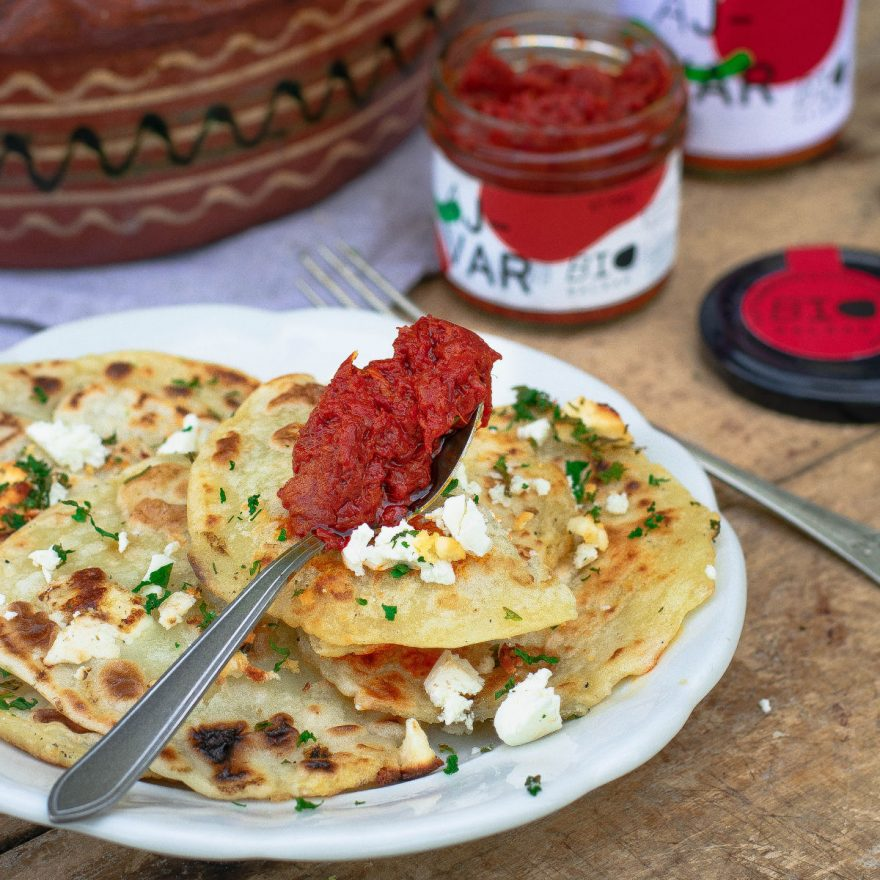 Flije, kleiner Klassiker der Balkan-Küche